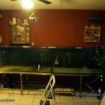aquarium leeg